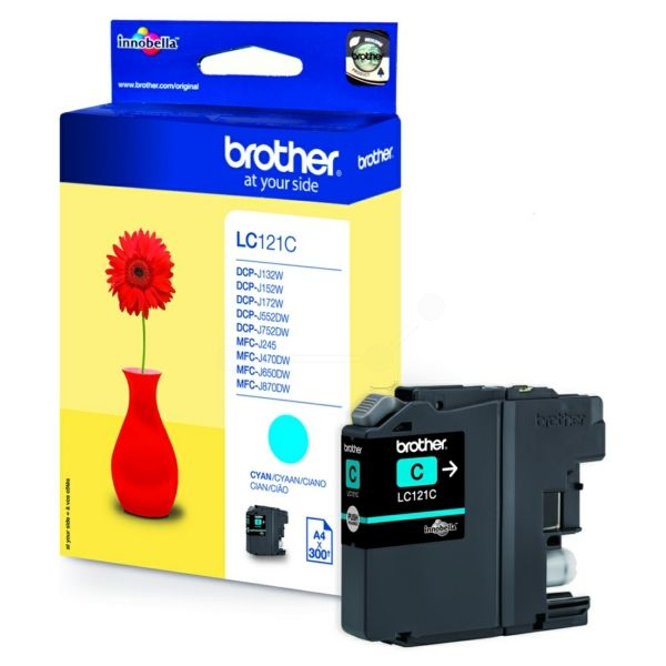 Brother%20Tinte%20LC-121C%20Cyan
