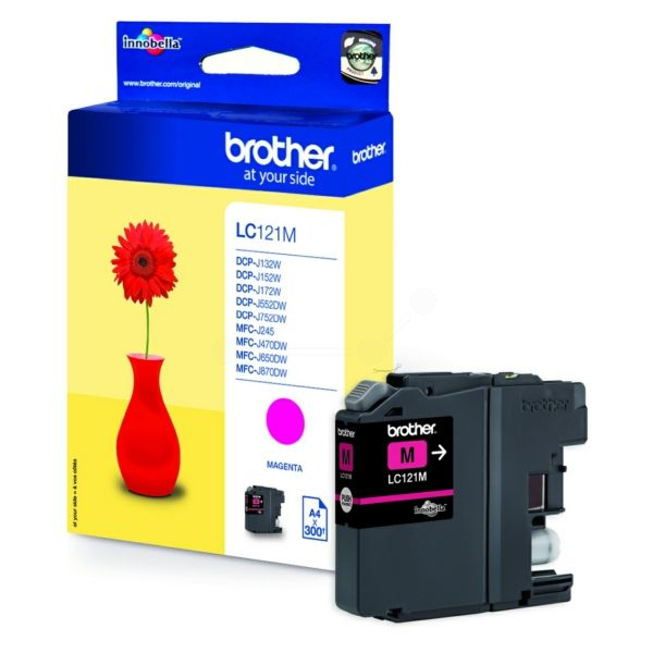 Brother%20Tinte%20LC-121M%20Magenta