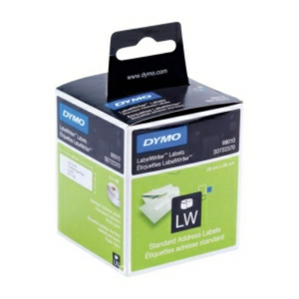 Dymo%20LabelWriter%20standard%20address%20labels%2099010%20-%202%20rolls%20per%20pack